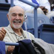 US Open : Sean Connery charmeur et Kristen Wiig charmée devant Novak Djokovic