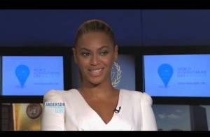 Beyoncé : ''Avec Jay-Z, nous adorons changer les couches de Blue Ivy !''