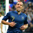 Franck Ribery lors du match de l'équipe de France face à la Biélorussie (3-1) en qualification au mondial brésilien le 11 septembre 2012 à Saint-Denis
