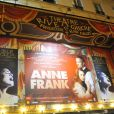 Première de la pièce  Anne Frank  au Théâtre Rive Gauche à Paris, le 11 septembre 2012.