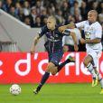 Jérémy Menez lors du match entre le PSG et Toulouse le 14 septembre 2012 à Paris