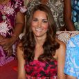 Kate Middleton lors de sa visite au gouverneur général Frank Kabui à Honiara, capitale des Iles Salomon le 16 septembre 2012