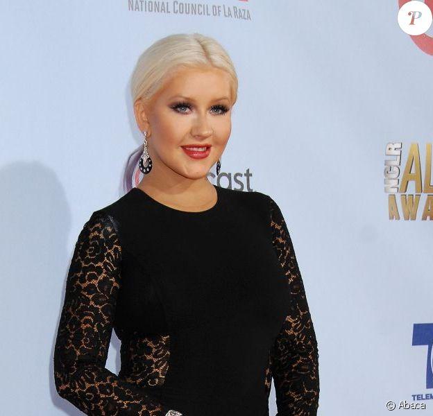 Christina Aguilera aux ALMA Awards, à Los Angeles, le 16 septembre 2012.