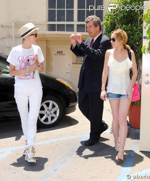 Lindsay Lohan et Samantha Ronson s'accordent une pause-déj