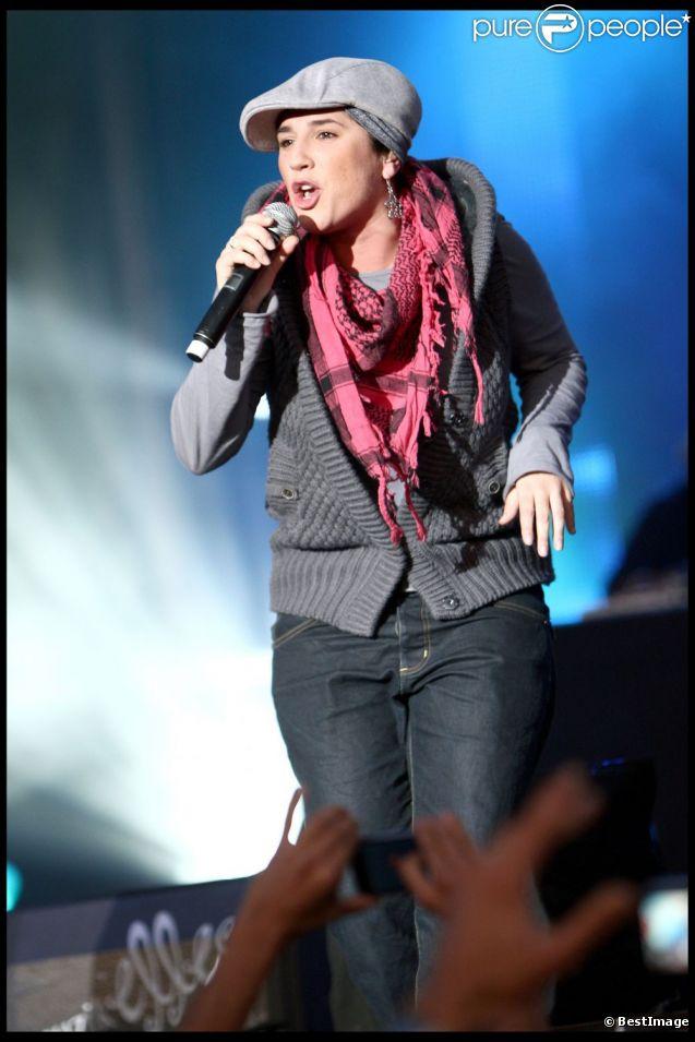Diam's en septembre 2009, aux Muzik'Elles de Meaux.