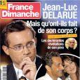 La Une de  France Dimanche  sur Jean-Luc Delarue, parue le 28 septembre 2012.