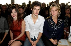Fashion Week : Virginie Efira et Lou Lesage, beautés du défilé John Galliano
