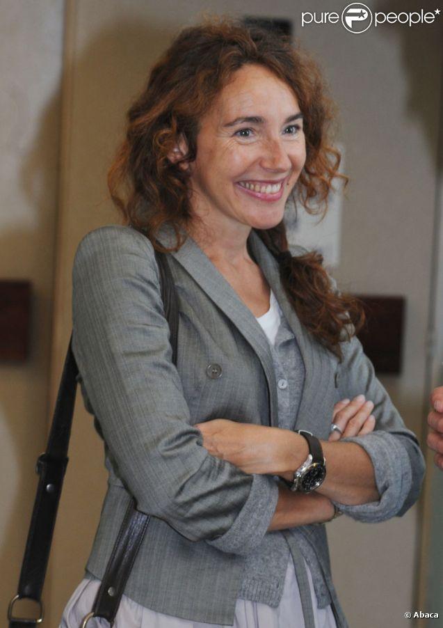 """La comedienne Isabel Otero, invitée du festival """"Les Herault de la Tele"""" au Cap d'Agde, le 28 Septembre 2012."""