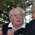 """Le réalisateur Georges Lautner, parrain du festival """"Les Herault de la Tele"""" au Palais des congres au Cap d'Agde, le 28 Septembre 2012."""