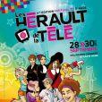 """L'affiche du festival """"Les Herault de la Télé"""" au Cap d'Agde, le 28 Septembre 2012."""