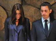 PHOTOS : Carla Bruni très émue par sa visite au Yad Vashem Memorial...
