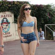 Lady Gaga bien dans son corps en soutien-gorge et short chez les Pirates de Juan