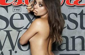 Mila Kunis : Topless et élue femme la plus sexy du monde