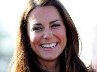 Kate Middleton charme l'équipe nationale de foot au côté de son prince William