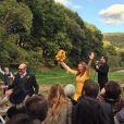 De nombreux invités avaient fait le déplacement au mariage d'Amber Tamblyn et David Cross, le samedi 6 octobre.