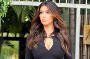 Kim Kardashian : Ultrasexy en robe noire, la star éclipse ses soeurs