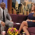 Magic Johnson, invité de l'animatrice Wendy Williams pour une interview vérité lors du  Wendy Williams Show  le 10 octobre 2012 à New York
