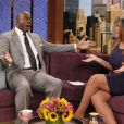 Magic Johnson, invité d'honneur de l'animatrice Wendy Williams pour une interview vérité lors du  Wendy Williams Show  le 10 octobre 2012 à New York