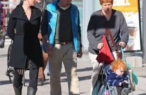 Cynthia Nixon, sa femme et leur bébé en pleine promenade à New York