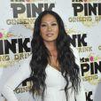 Kimora Lee à la soirée de lancement de la boisson énergétique Mr. Pink Ginseng, au Beverly Wilshire Hotel à Los Angeles, le 11 octobre 2012.