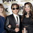 Paris, Prince et leur tata La Toya Jackson à la soirée de lancement de la boisson énergétique Mr. Pink Ginseng, au Beverly Wilshire Hotel à Los Angeles, le 11 octobre 2012.