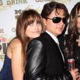 Paris affectueuse avec son grand frère Prince Michael à la soirée de lancement de la boisson énergétique Mr. Pink Ginseng, au Beverly Wilshire Hotel à Los Angeles, le 11 octobre 2012.