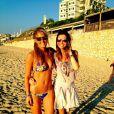 Le top Bar Refaeli dévoile des photos d'elle en bikini sur Twitter. Le 11 octobre 2012.