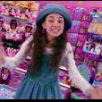 Mila Kunis, agée de 10 ans, dans un spot pour Lisa Franck (1993)