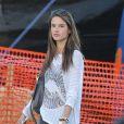 """""""Alessandra Ambrosio se rend chez Mr Bones Pumpkin Patch à Los Angeles le 23 octobre 2012"""""""