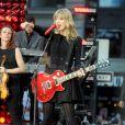 Taylor Swift performe pour ses fans à  Good Morning America  à New York le 23 octobre 2012.