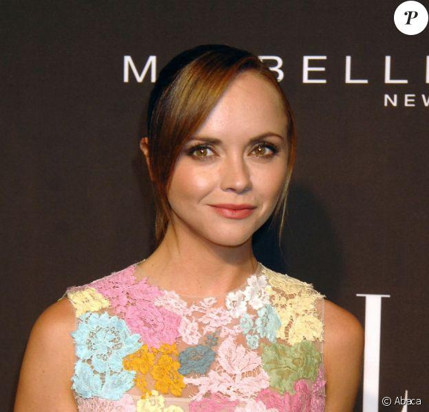 Christina Ricci lors de la soirée Elle Fashion Next 2012 au David H. Koch Theater, de New York le 7 septembre 2012