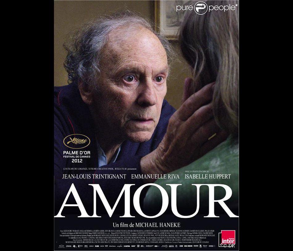 Affiche du film Amour de Michael Haneke