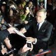 Daniel Craig lors de l'avant-première du James Bond Skyfall à Paris le 24 Octobre 2012