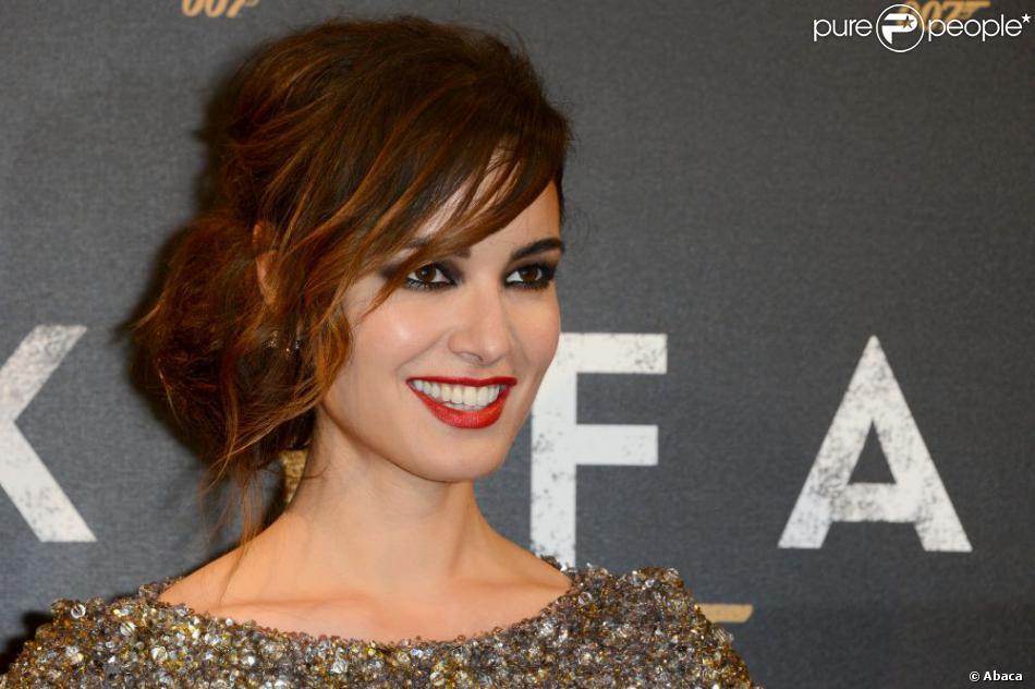 Bérénice Marlohe lors de l'avant-première de James Bond, Skyfall, le 24 octobre 2012 à Paris