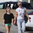 Jennie Garth et sa fille Fiona à Los Angeles le 27 octobre 2012