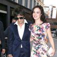 Ronnie Wood et Sally Humpreys le 9 août 2012 à Londres.