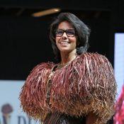 Audrey Pulvar : Craquante et croquante en mannequin chocolaté