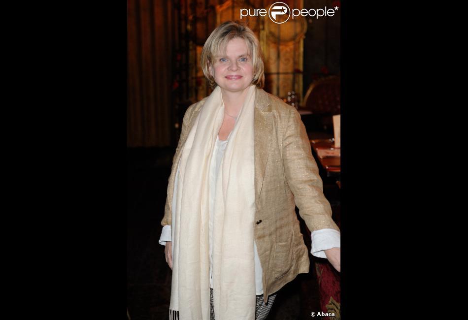 Isabelle Nanty en avril 2012 à Paris