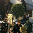 Olivier Dahan sur le tournage de Grace de Monaco fin octobre 2012   Photo exclusive