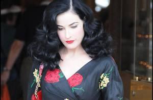 PHOTOS : Dita von Teese s'invite chez Angelina !