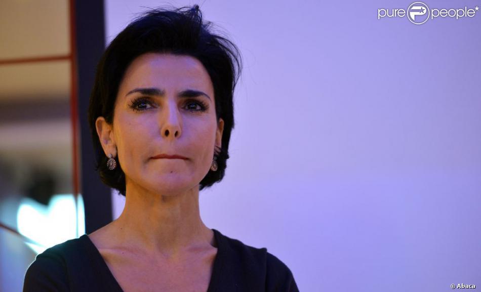 Rachida Dati à Paris, le 2 octobre 2012.