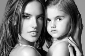 Alessandra Ambrosio et sa fille de 4 ans : Mannequins complices pour London Fog