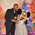 Bruce Toussaint lors du lancement de la parade de Noël à Disneyland Paris le 10 novembre 2012