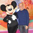 Jean-Michel Aphatie lors du lancement de la parade de Noël à Disneyland Paris le 10 novembre 2012