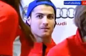 Cristiano Ronaldo : Regard lubrique, obsédé par une mystérieuse jeune fille...