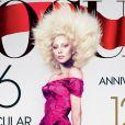 Lady Gaga ici en couverture du magazine Vogue de septembre 2012.