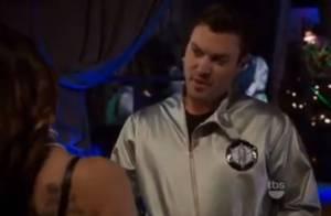 Megan Fox, en cuir dévêtue, donne la réplique à son amoureux Brian Austin Green