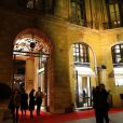 Soirée d'inauguration de la boutique Jaeger-LeCoultre place Vendôme à Paris le 20 novembre 2012