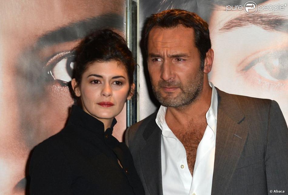 Audrey Tautou et Gilles Lellouche lors de l'avant-première de Thérèse Desqueyroux le 20 novembre 2012 à Paris