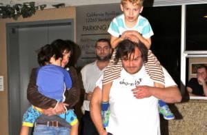 Jack Black : Très élégant pour une sortie familiale avec ses bambins et sa belle